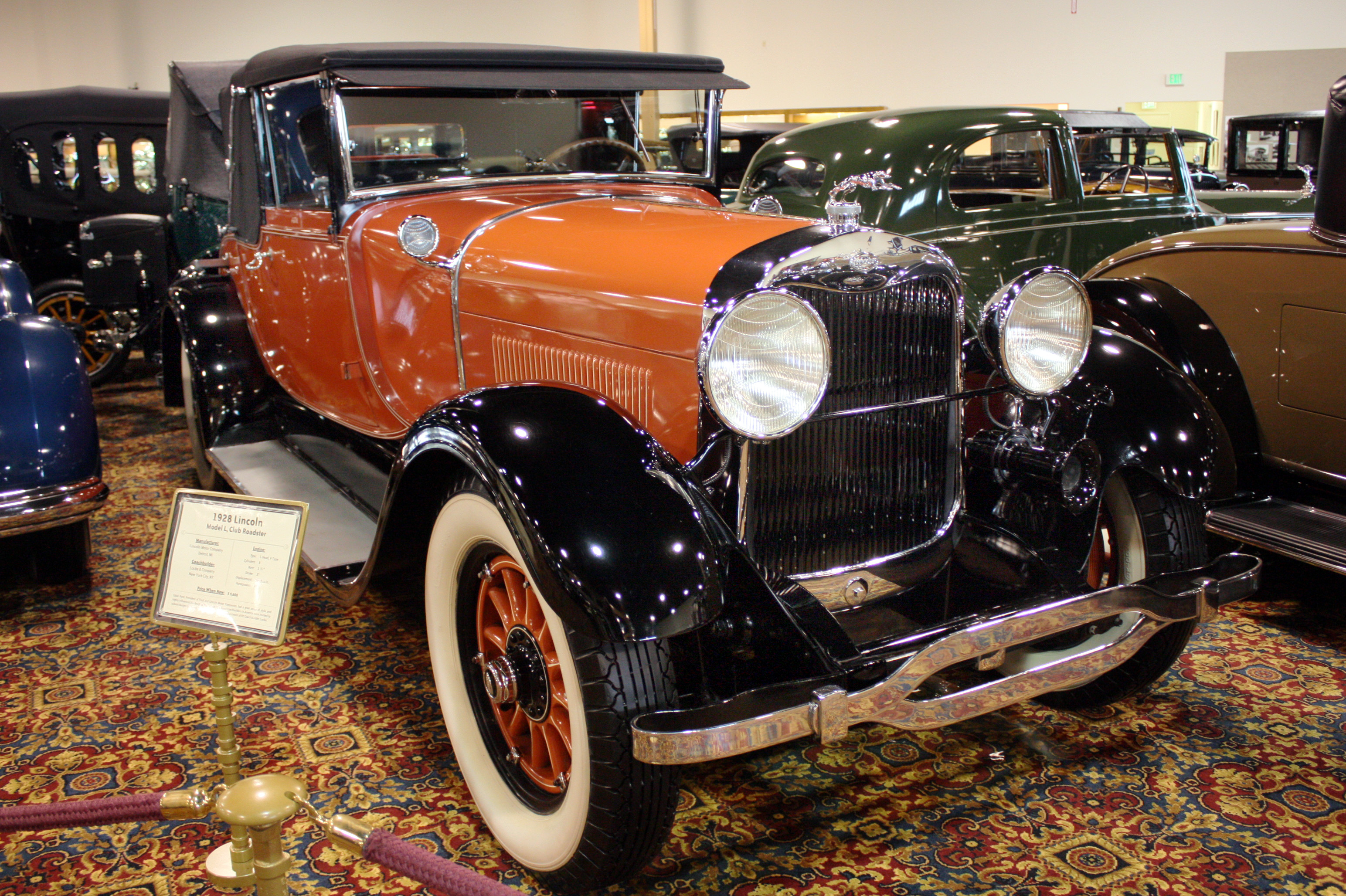 1928 Lincoln Model L Information And Photos Momentcar