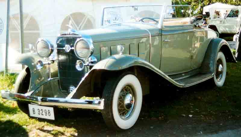 1932 lasalle 345 information and photos momentcar for 1932 oldsmobile 4 door