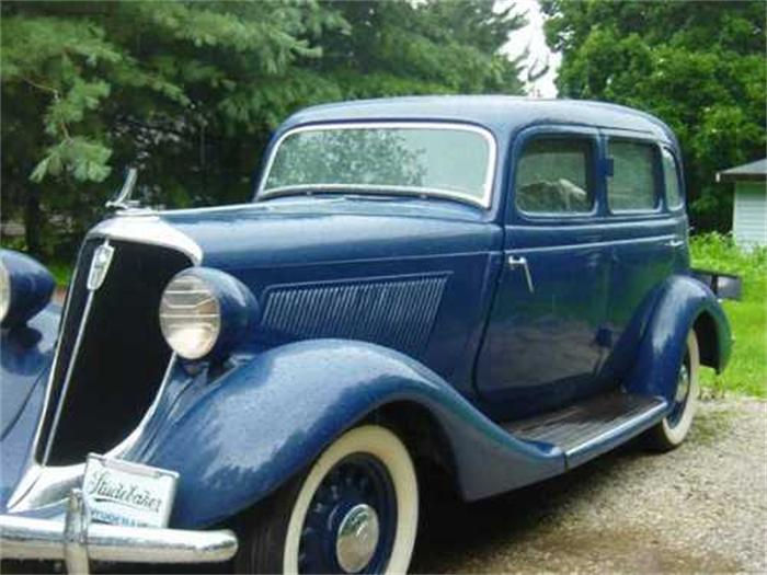 1934 Studebaker Dictator - Information and photos - MOMENTcar