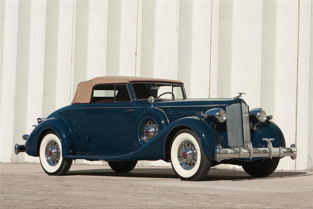 1935 Packard 1207 Information And Photos Momentcar