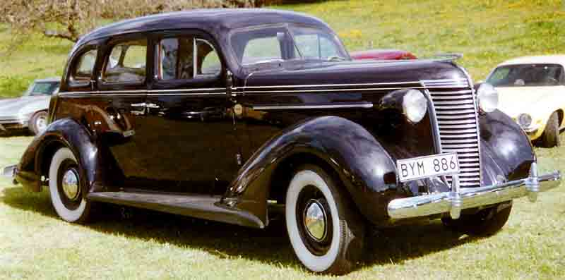 1938 Nash Lafayette Information And Photos Momentcar
