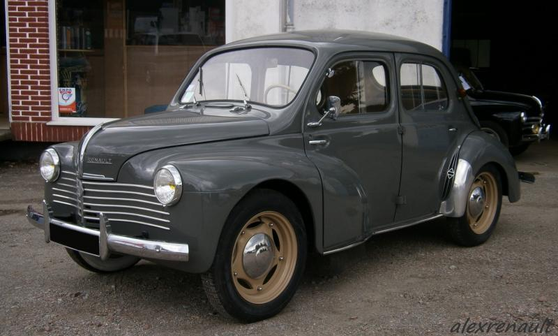 1950 renault 4cv - information and photos