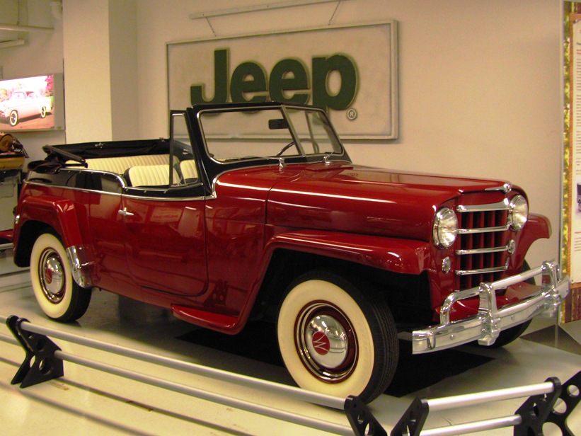 1950 Jeepster #1