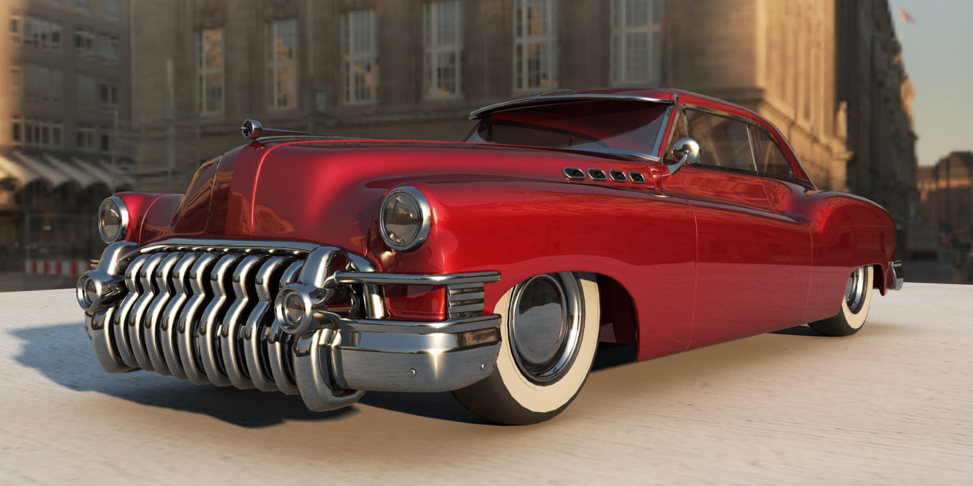 1950 Buick Roadmaster - Information and photos - MOMENTcar