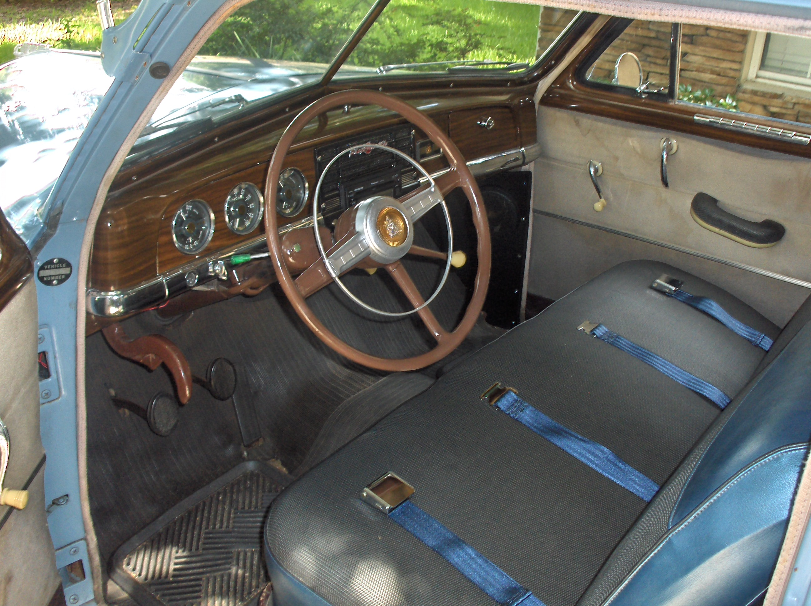 1950 Plymouth Seats : Plymouth special deluxe information and photos