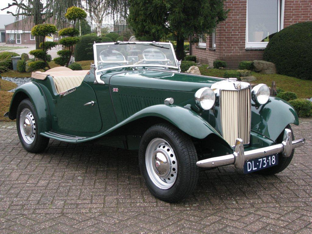 1950 Mg Td Information And Photos Momentcar