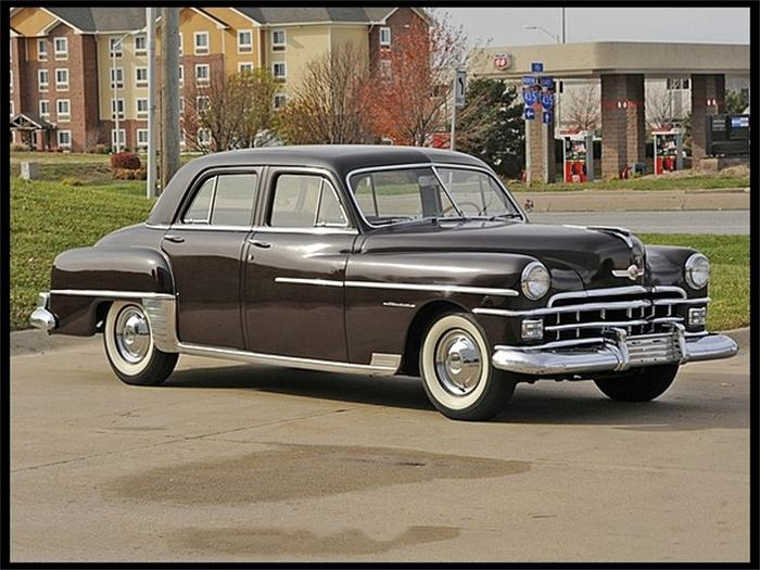 1950 Chrysler Windsor Information And Photos Momentcar