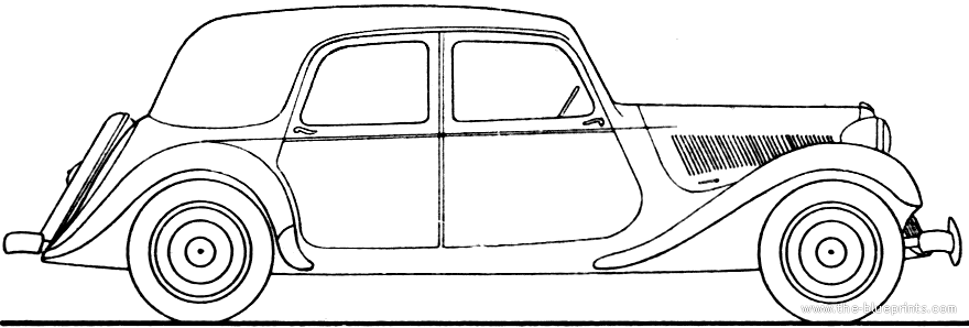 1951 citroen normale - information and photos