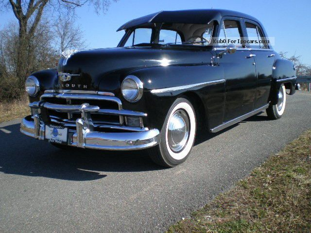 1952 Plymouth Cambridge Information And Photos Momentcar