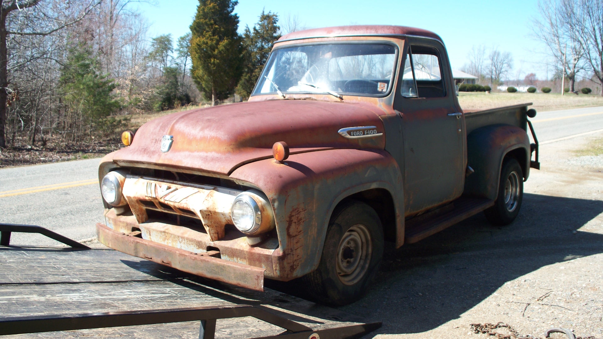 1954 Ford F250 - Information and photos - MOMENTcar