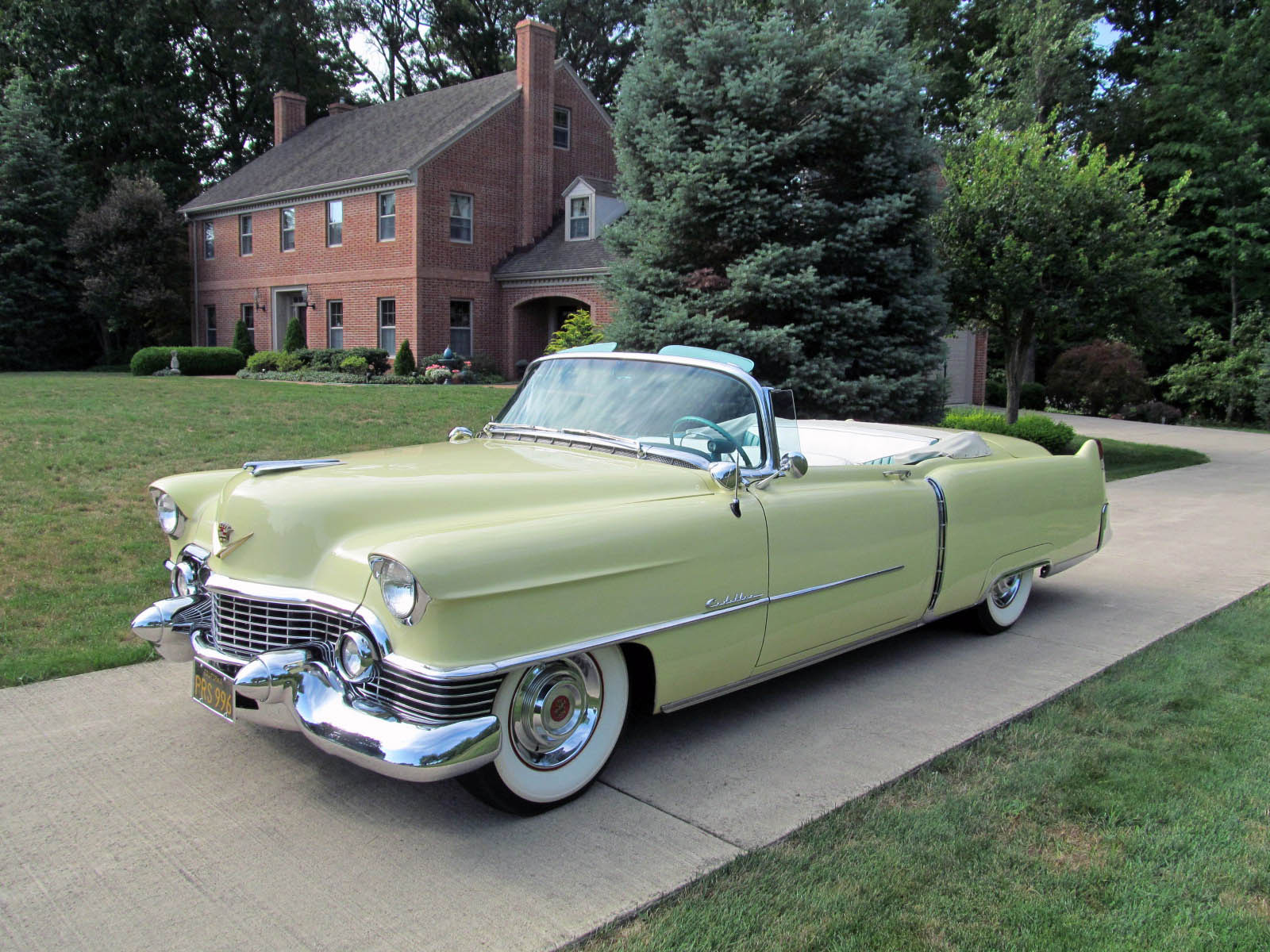 1954 Cadillac Series 62 Information And Photos Momentcar Coupe Deville 1