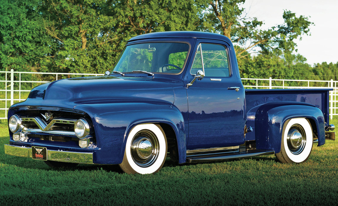 Ford F100 317px Image 6 1955 Hood Download 1