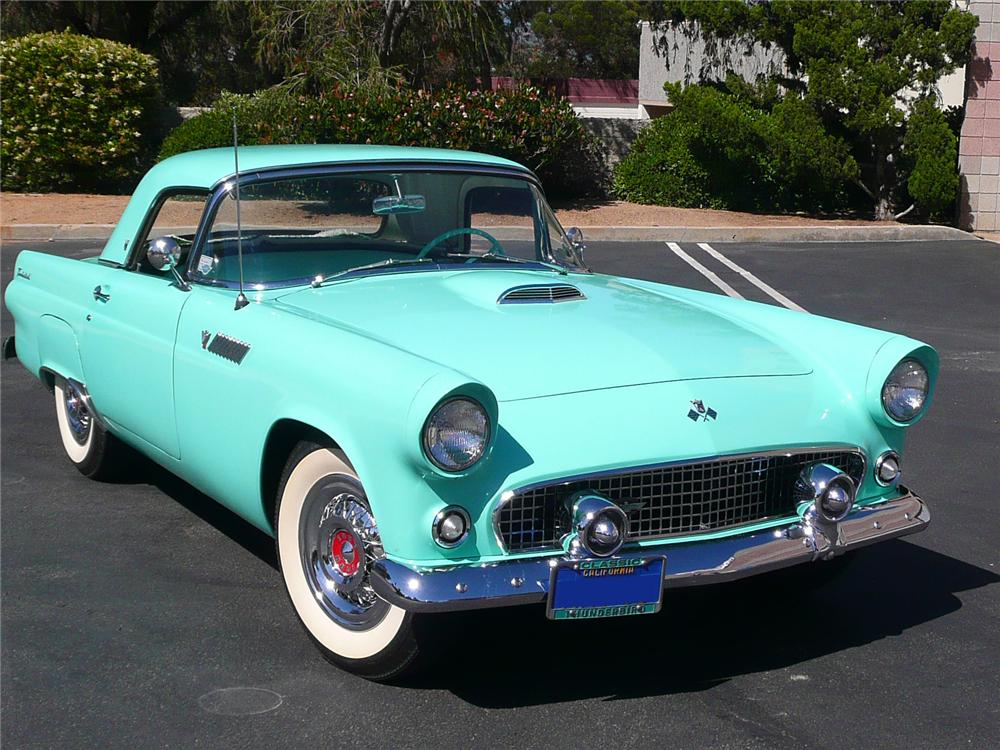 1955 Ford Thunderbird - Information And Photos