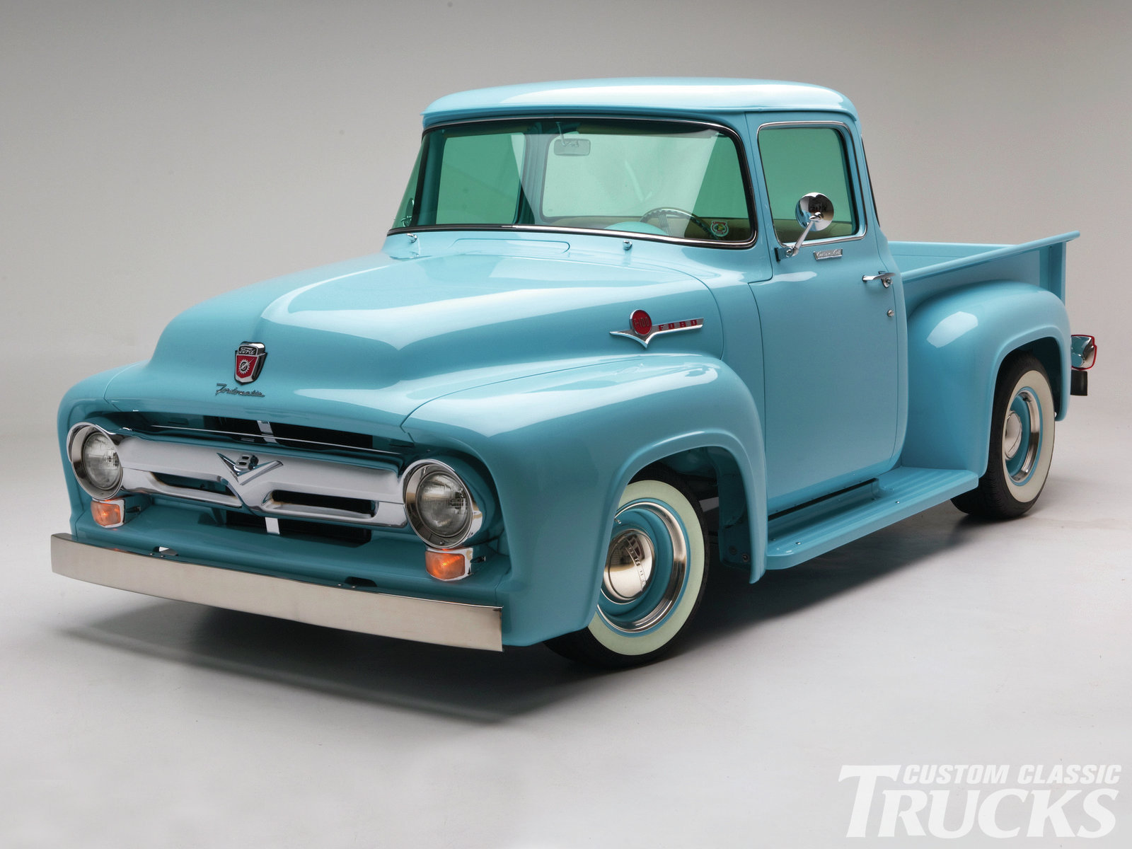 1956 Ford F100 Information And Photos Momentcar