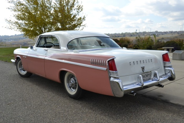 1956 Chrysler New Yorker Information And Photos Momentcar