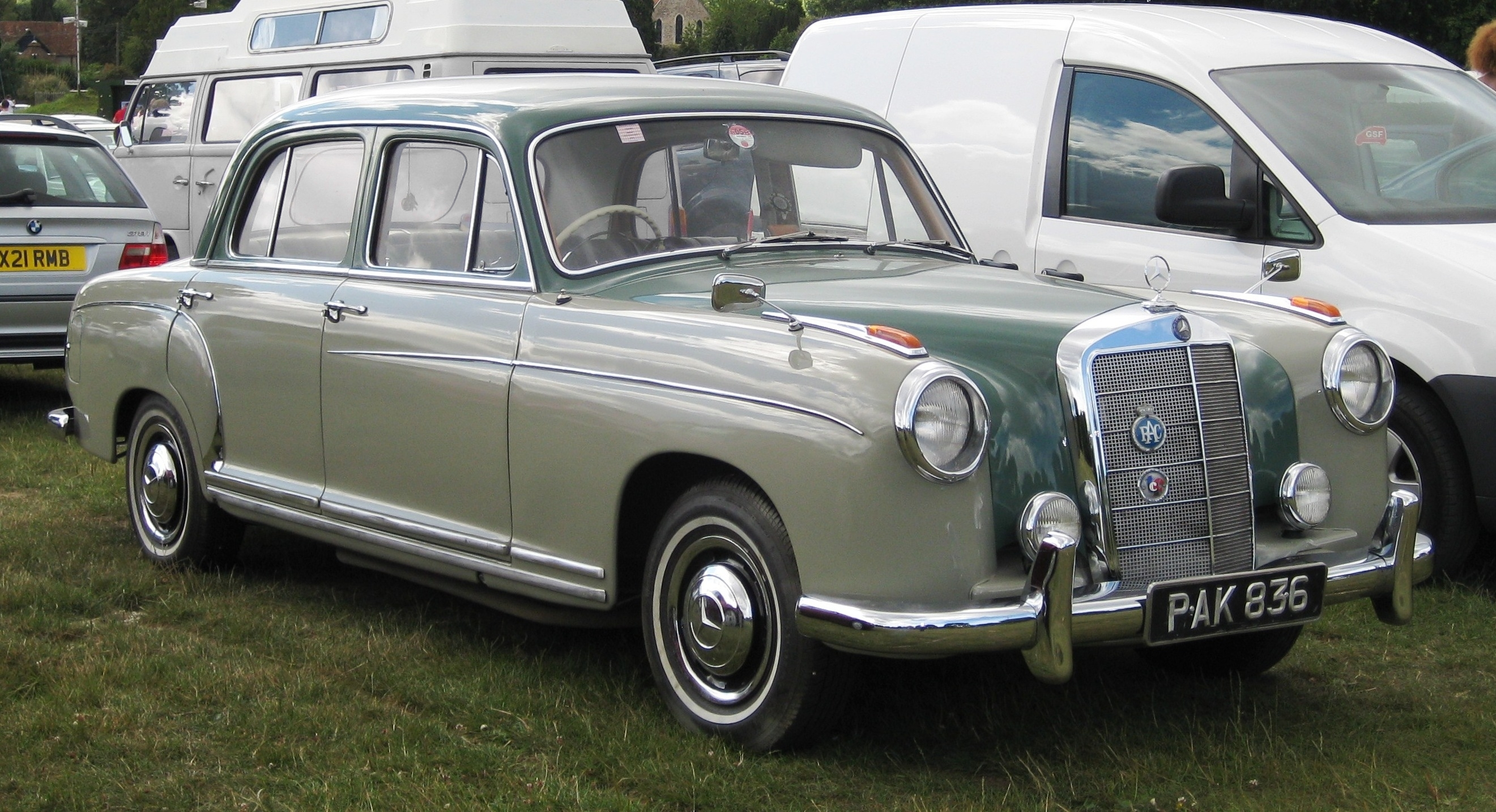 Image gallery 1958 mercedes for Mercedes benz tysons hours