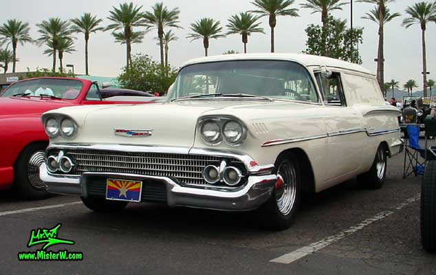 1958 Chevrolet Sedan Delivery - Information and photos - MOMENTcar