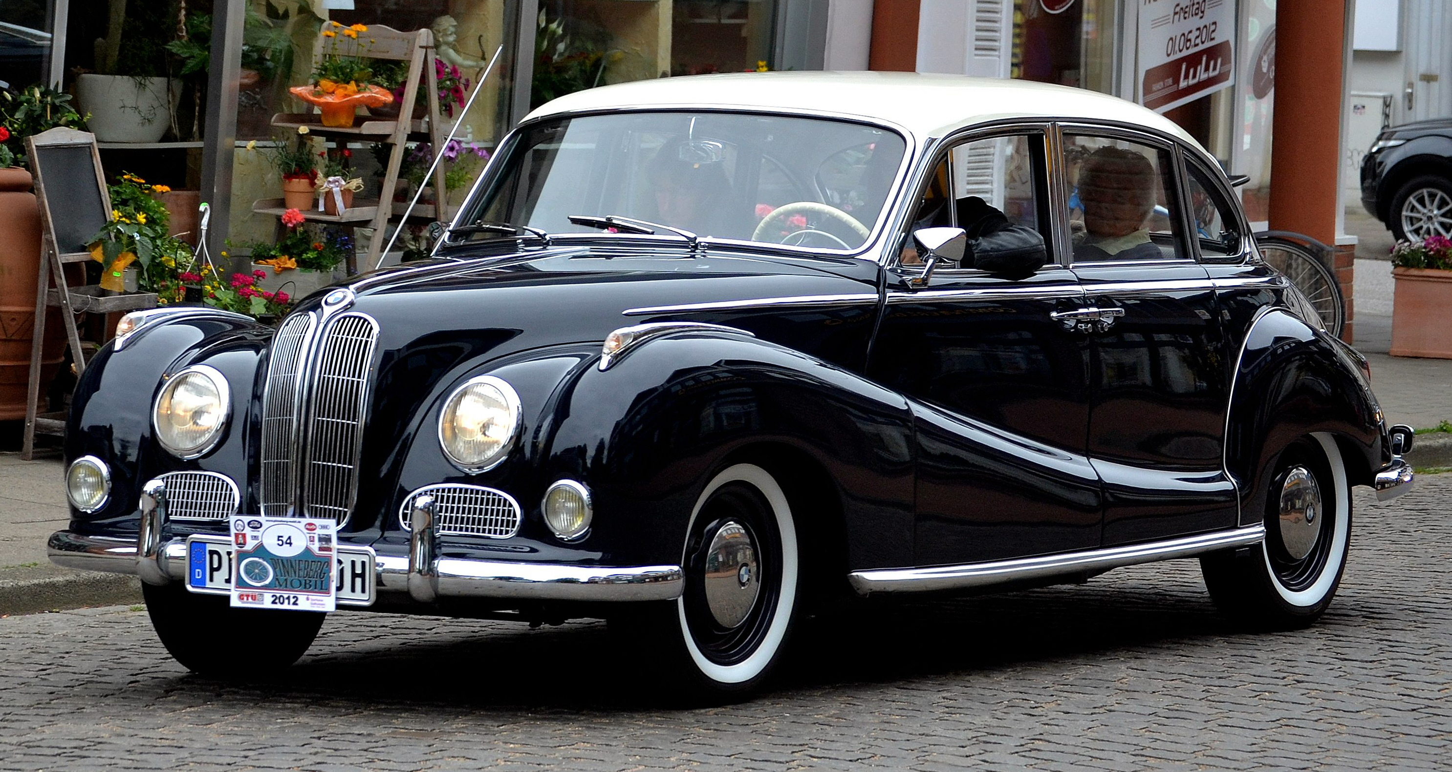1959 Bmw 502 Information And Photos Momentcar