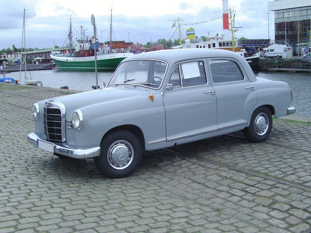 1960 mercedes benz 180 information and photos momentcar for 1960 mercedes benz
