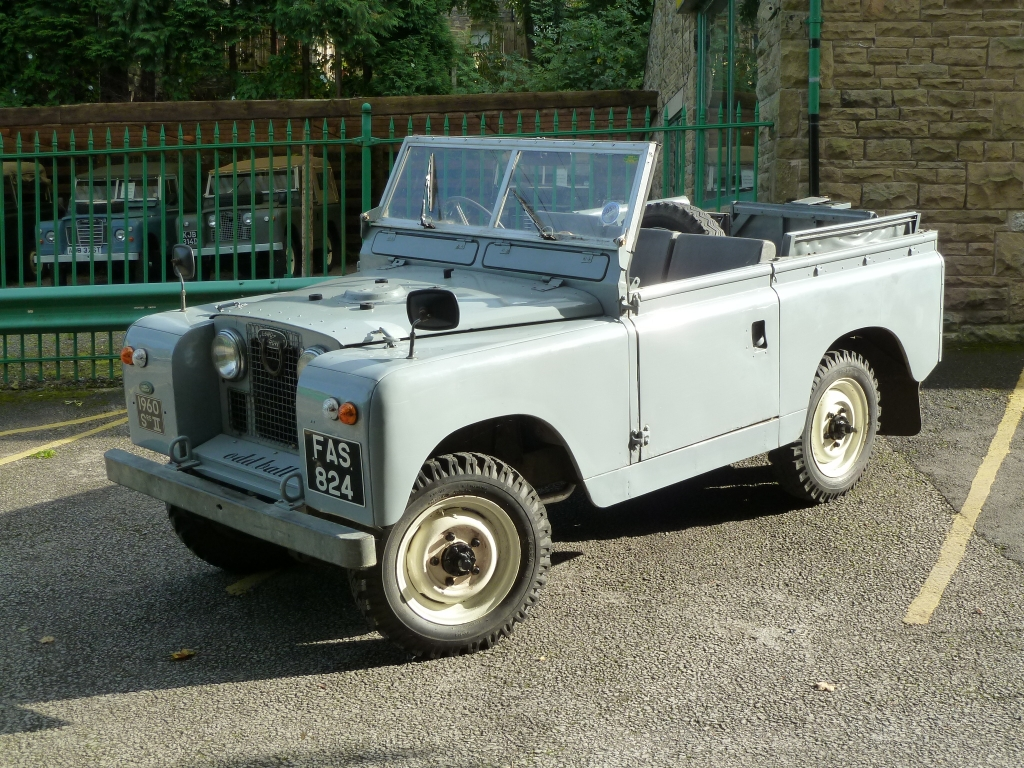 V8-Powered 1960 Land Rover 109 | Bring a Trailer
