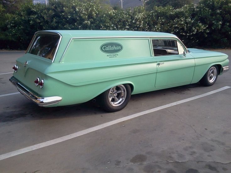 1961 Ford Sedan Delivery Information And Photos Momentcar