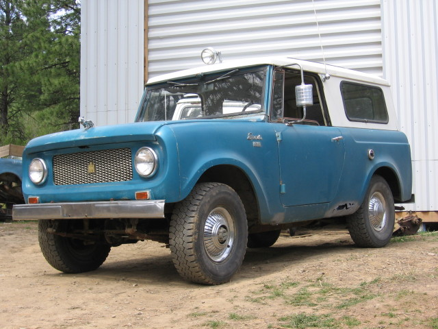 1964 International Scout 80 Information And Photos
