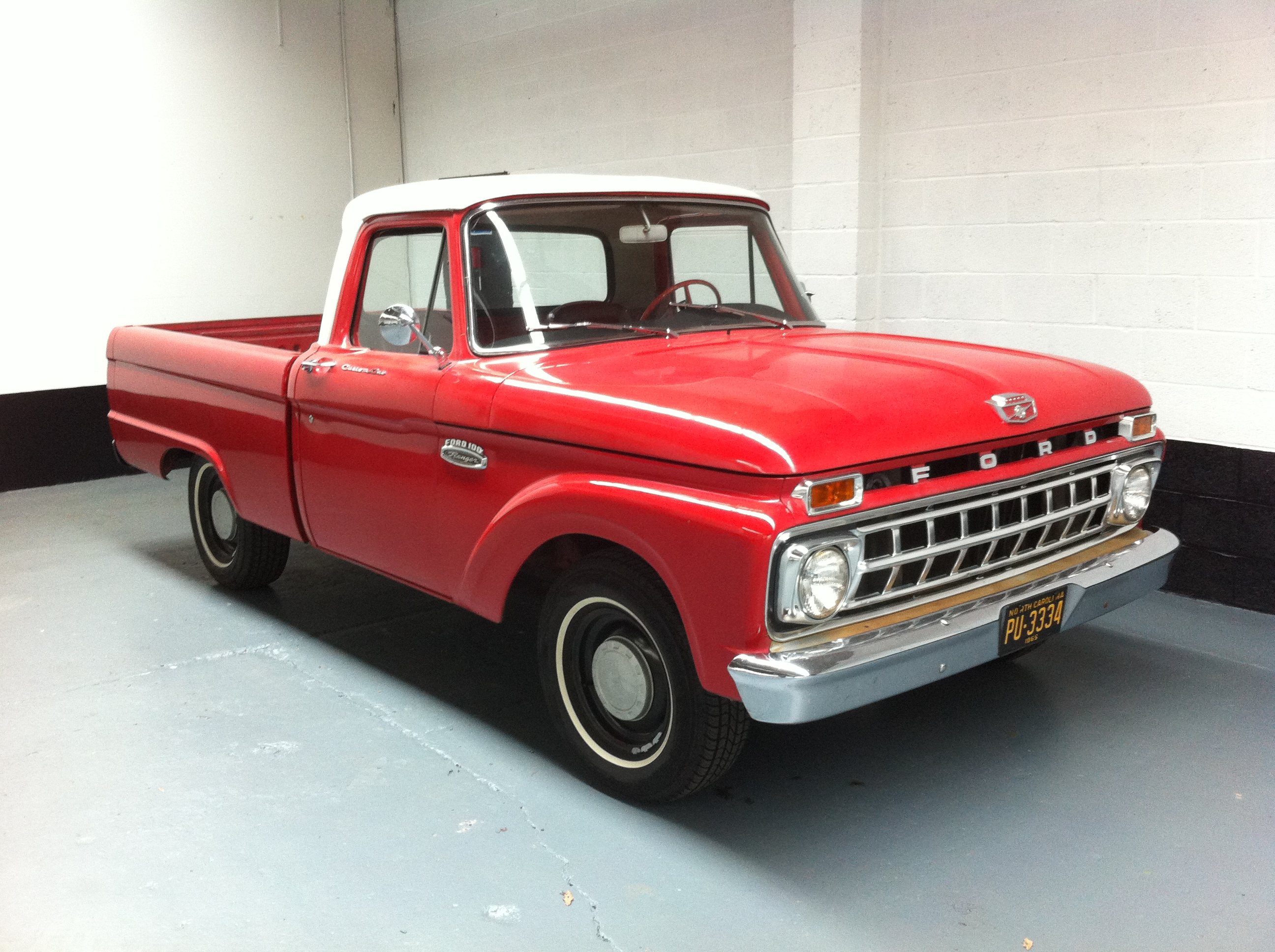 1965 Ford F100 Information And Photos Momentcar