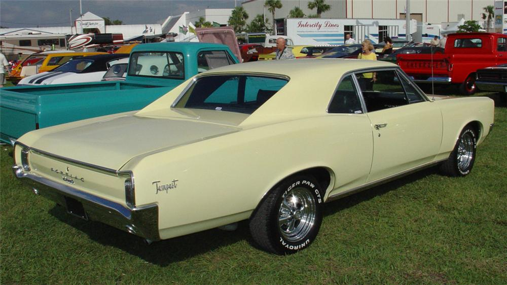 1966 Pontiac Tempest Information And Photos Momentcar