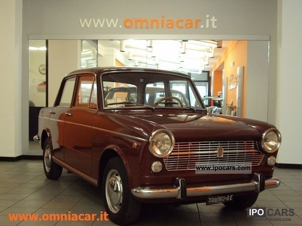 1967 Fiat 1100r Information And Photos Momentcar