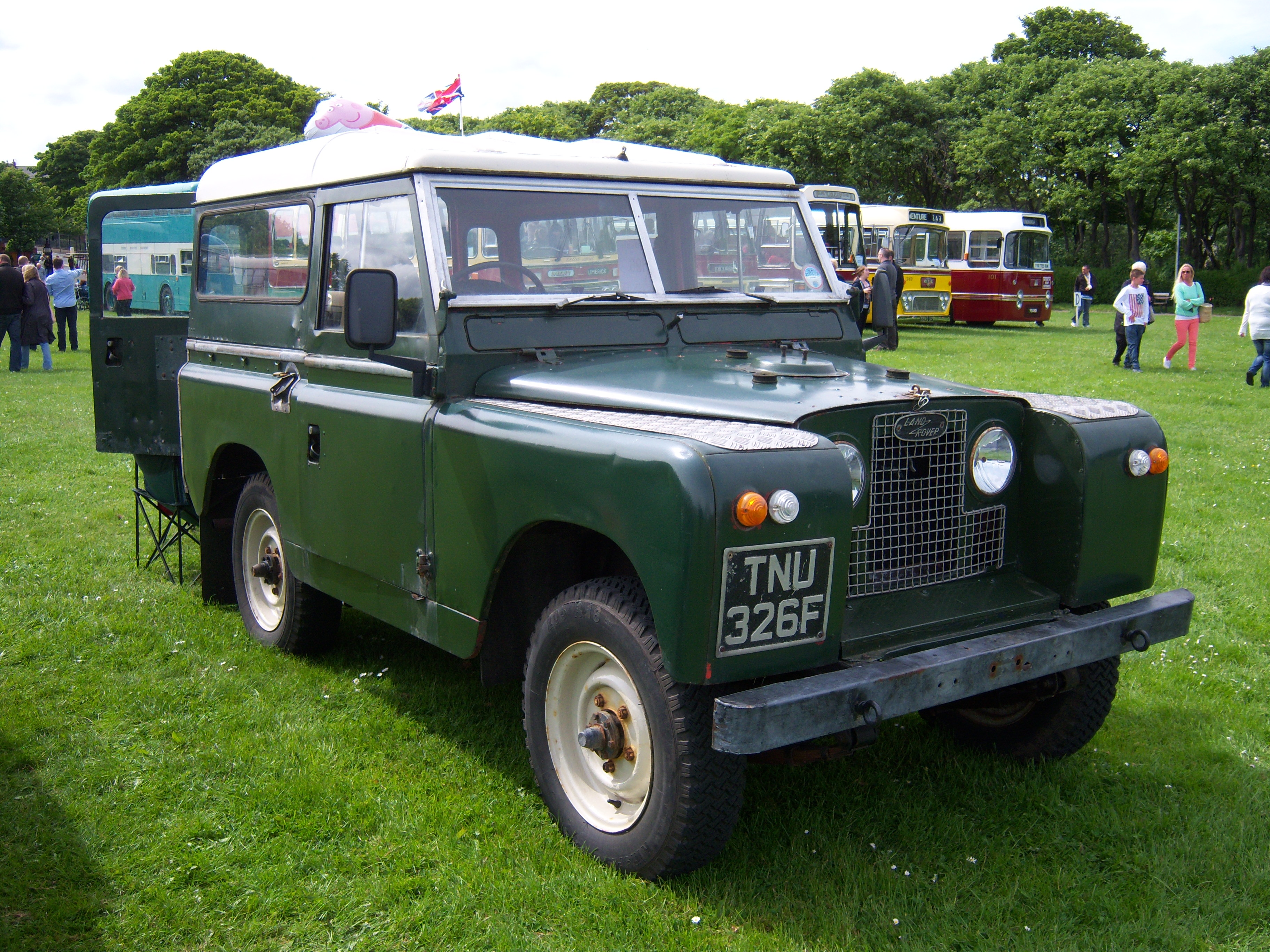 1967 land rover series ii information and photos momentcar. Black Bedroom Furniture Sets. Home Design Ideas