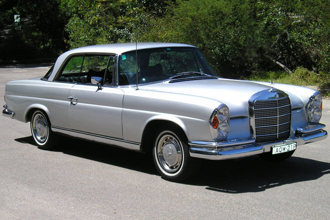 1968 mercedes benz 280se information and photos momentcar
