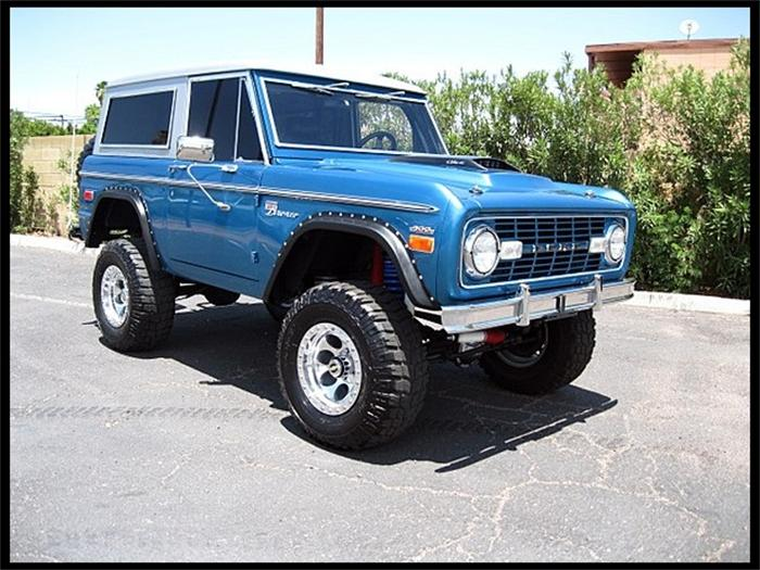 1968 Ford Bronco - Information and photos - MOMENTcar