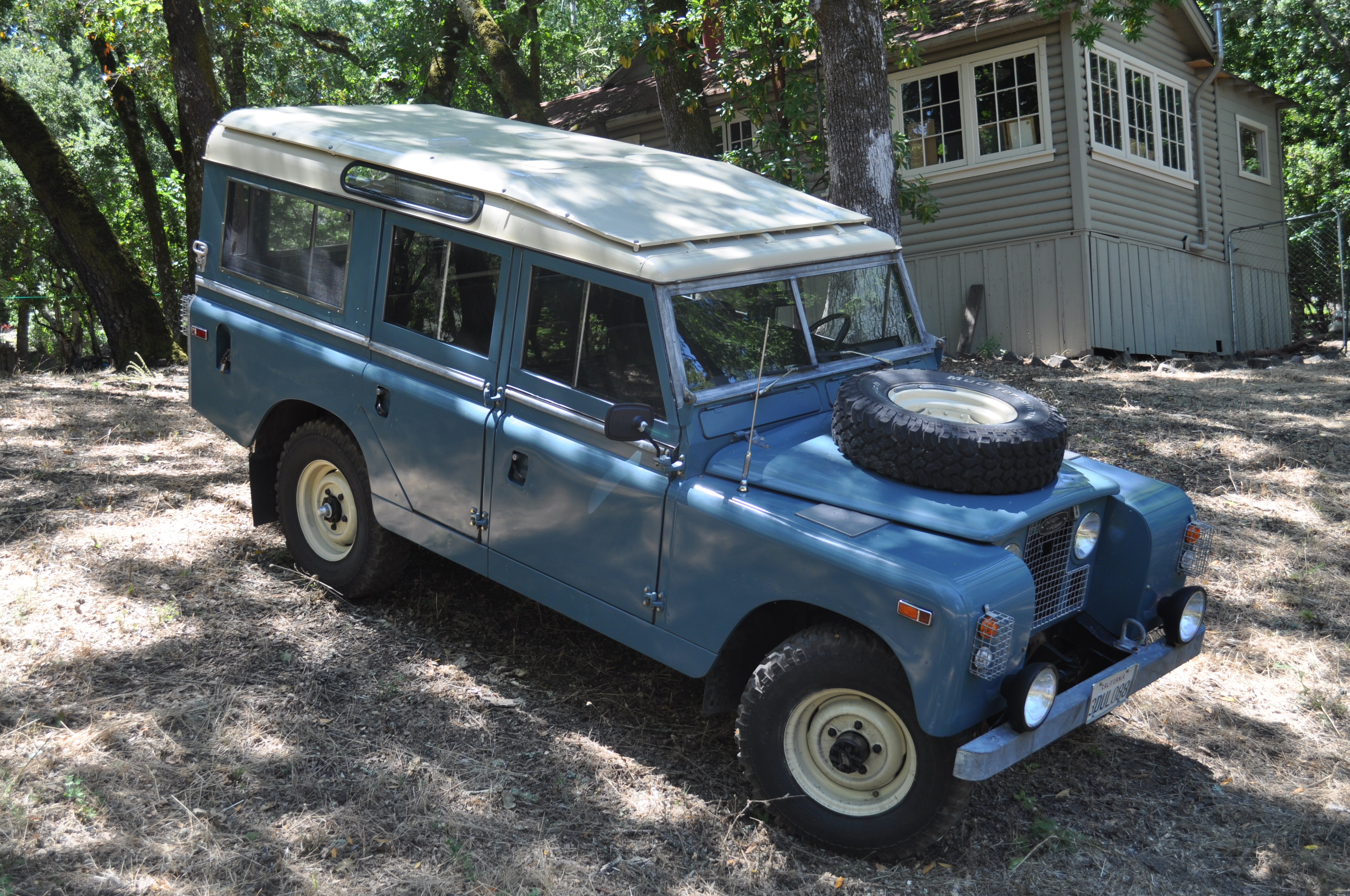 1968 land rover series ii information and photos momentcar. Black Bedroom Furniture Sets. Home Design Ideas