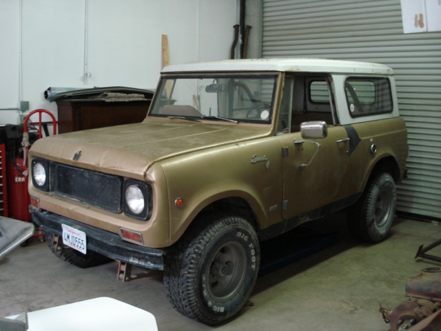 1969 International Scout 800a Information And Photos