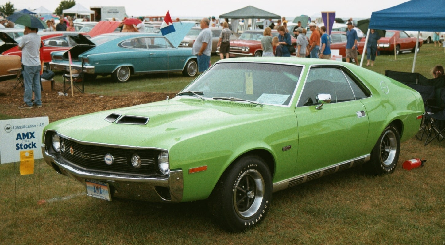 1970 American Motors Amx Information And Photos Momentcar