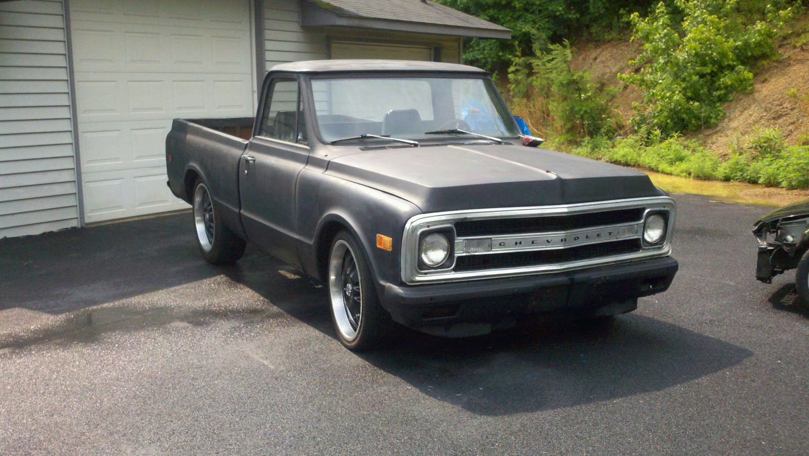 1968 c10 short bed weight