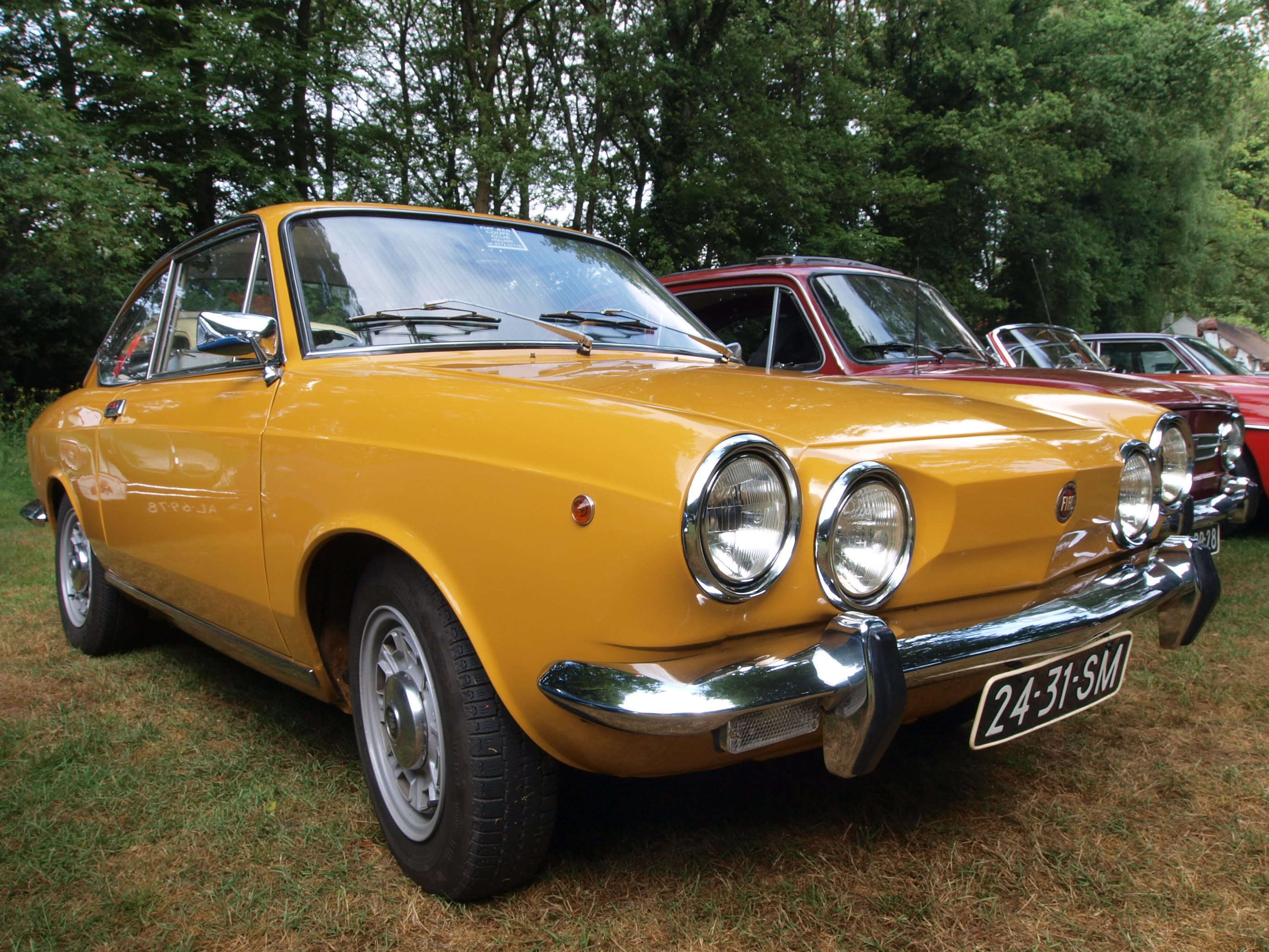 1971 fiat 850 information and photos momentcar - Fiat 850 coupe sport a vendre ...