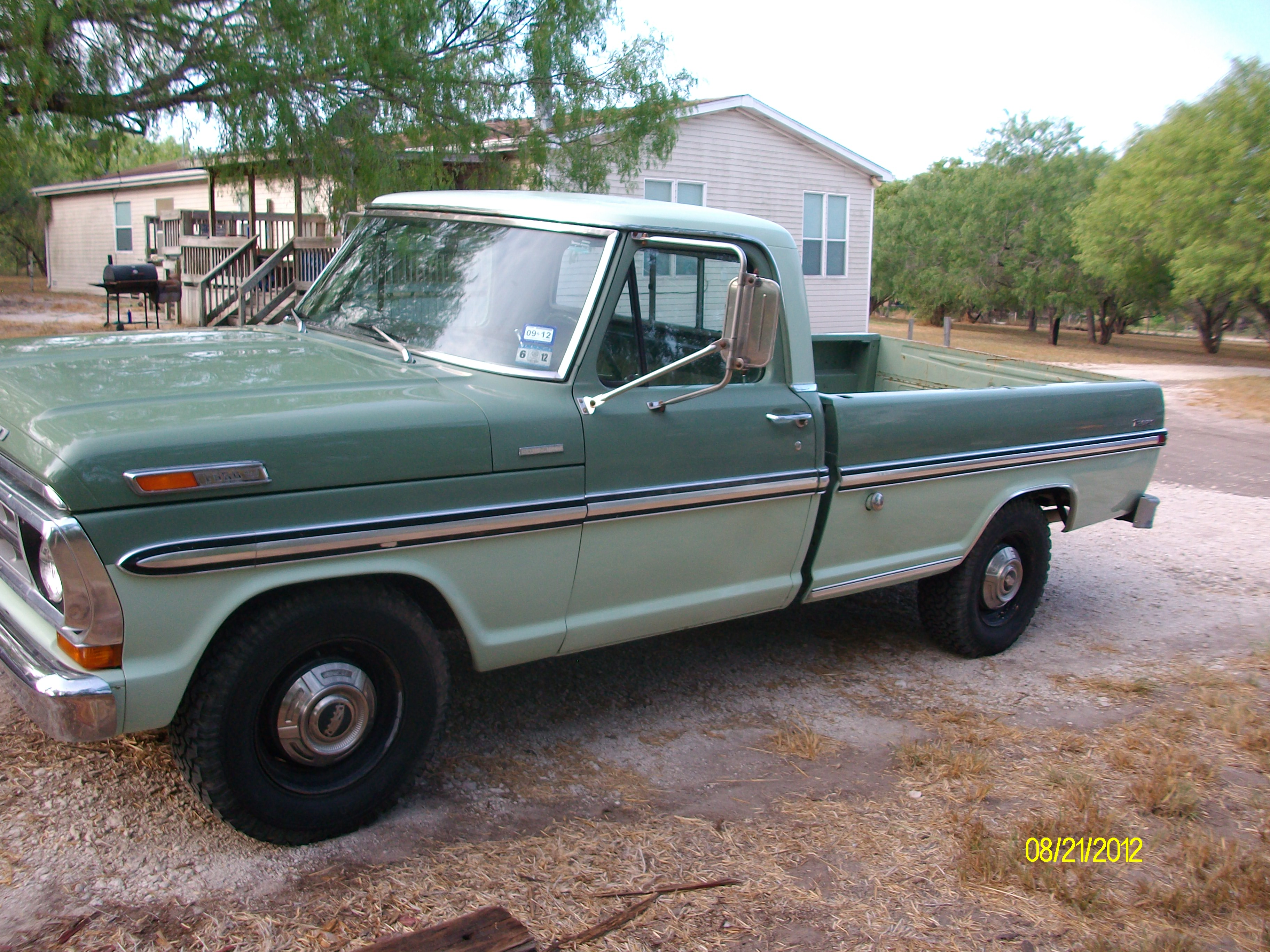 1971 ford f250 information and photos momentcar