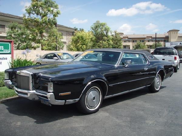 1972 Lincoln Mark Iv Information And Photos Momentcar