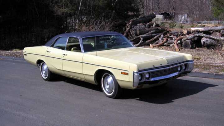 1972 Dodge Polara Information And Photos Momentcar