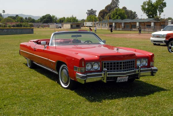1973 Cadillac Eldorado - Information and photos - MOTcar
