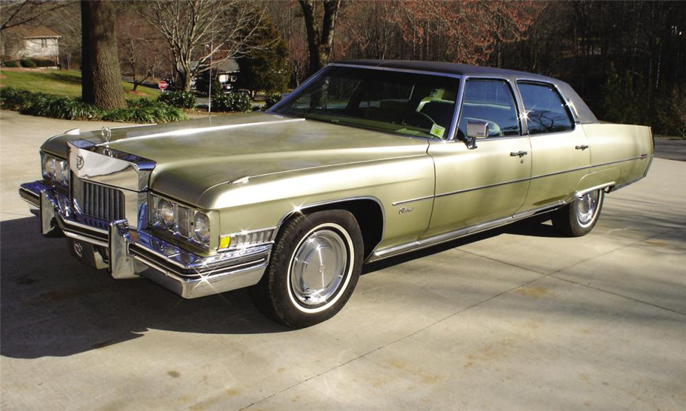 1973 Cadillac Fleetwood Information And Photos Momentcar