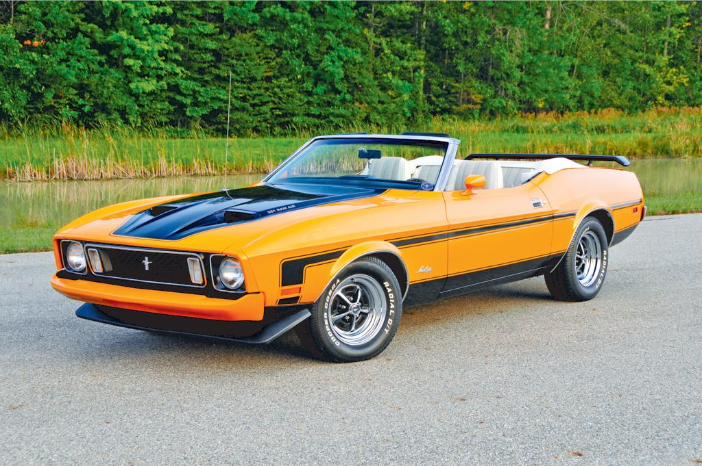 1973 Ford Mustang Information And Photos Momentcar