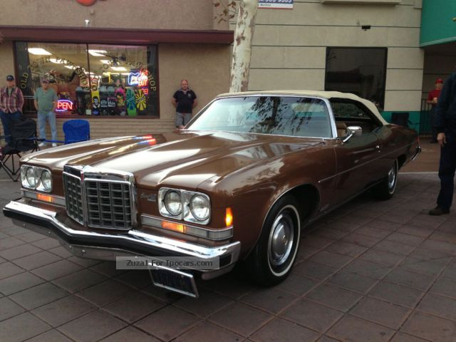 1974 Pontiac Bonneville Information And Photos Momentcar