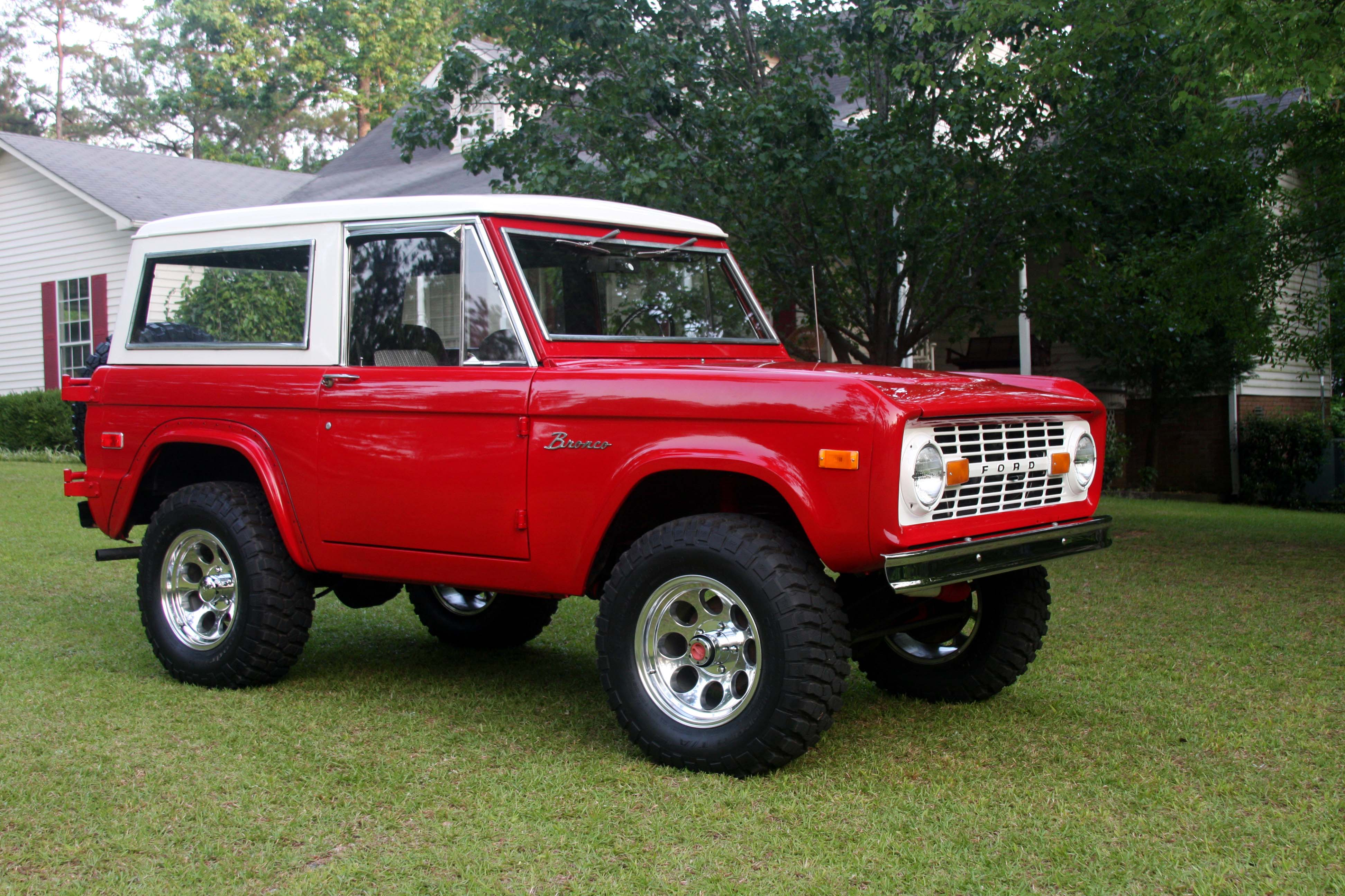 1974 Ford Bronco Information And Photos Momentcar