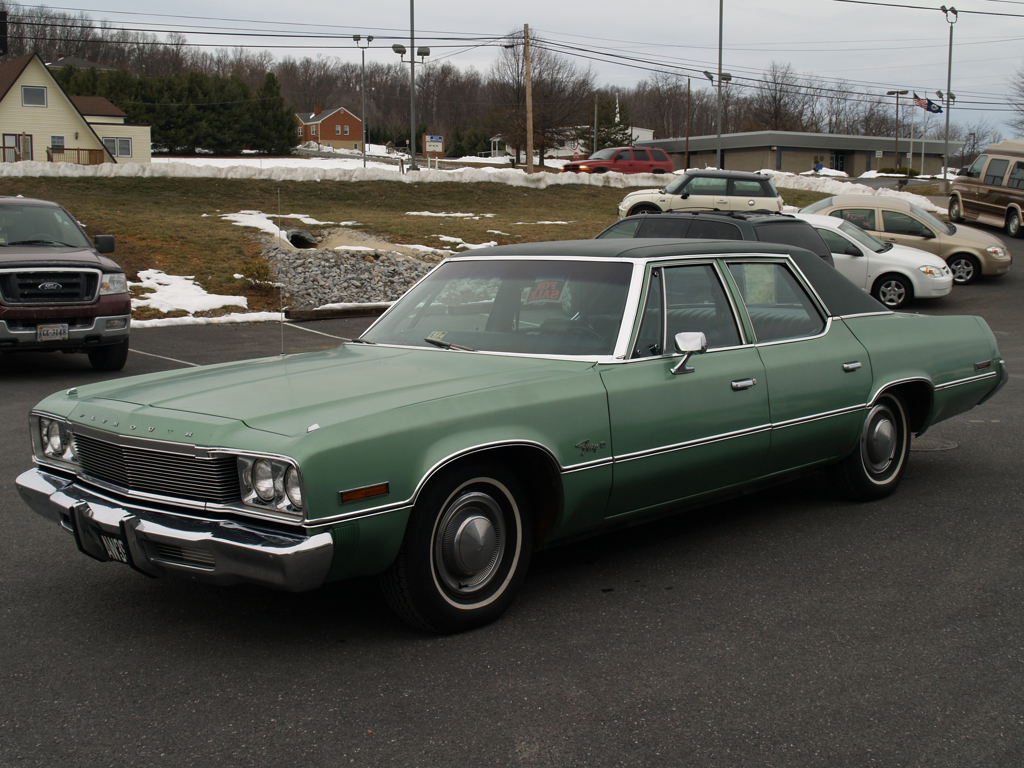 1974 Plymouth Fury Information And Photos Momentcar