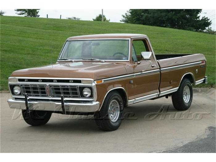 1975 Ford F150 Information And Photos Momentcar