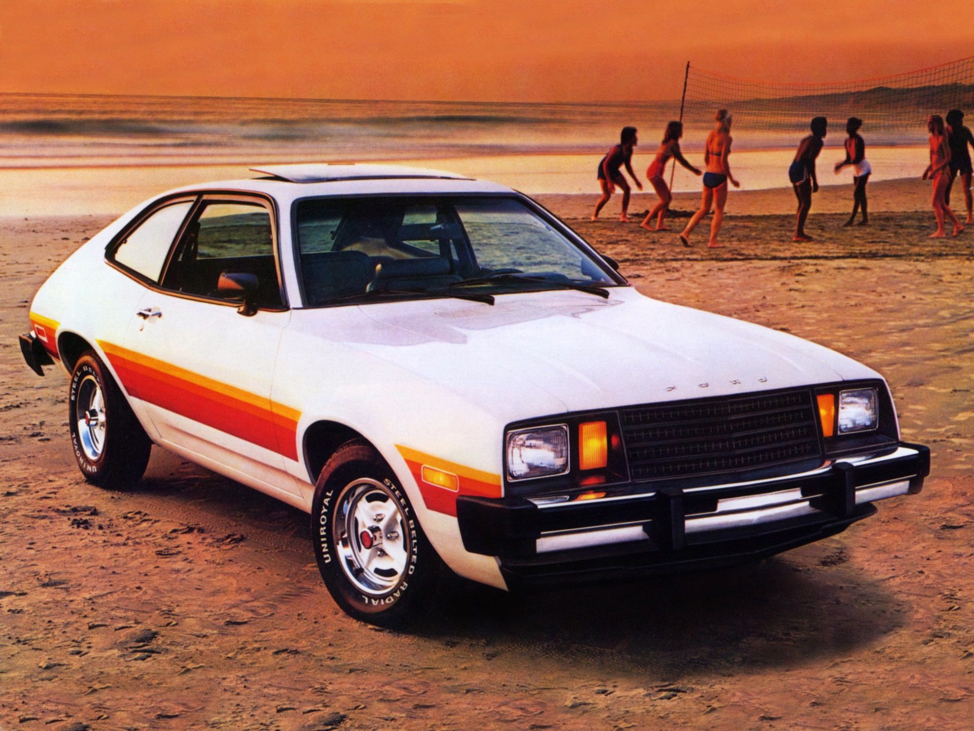 Ford Pinto on ford exp car