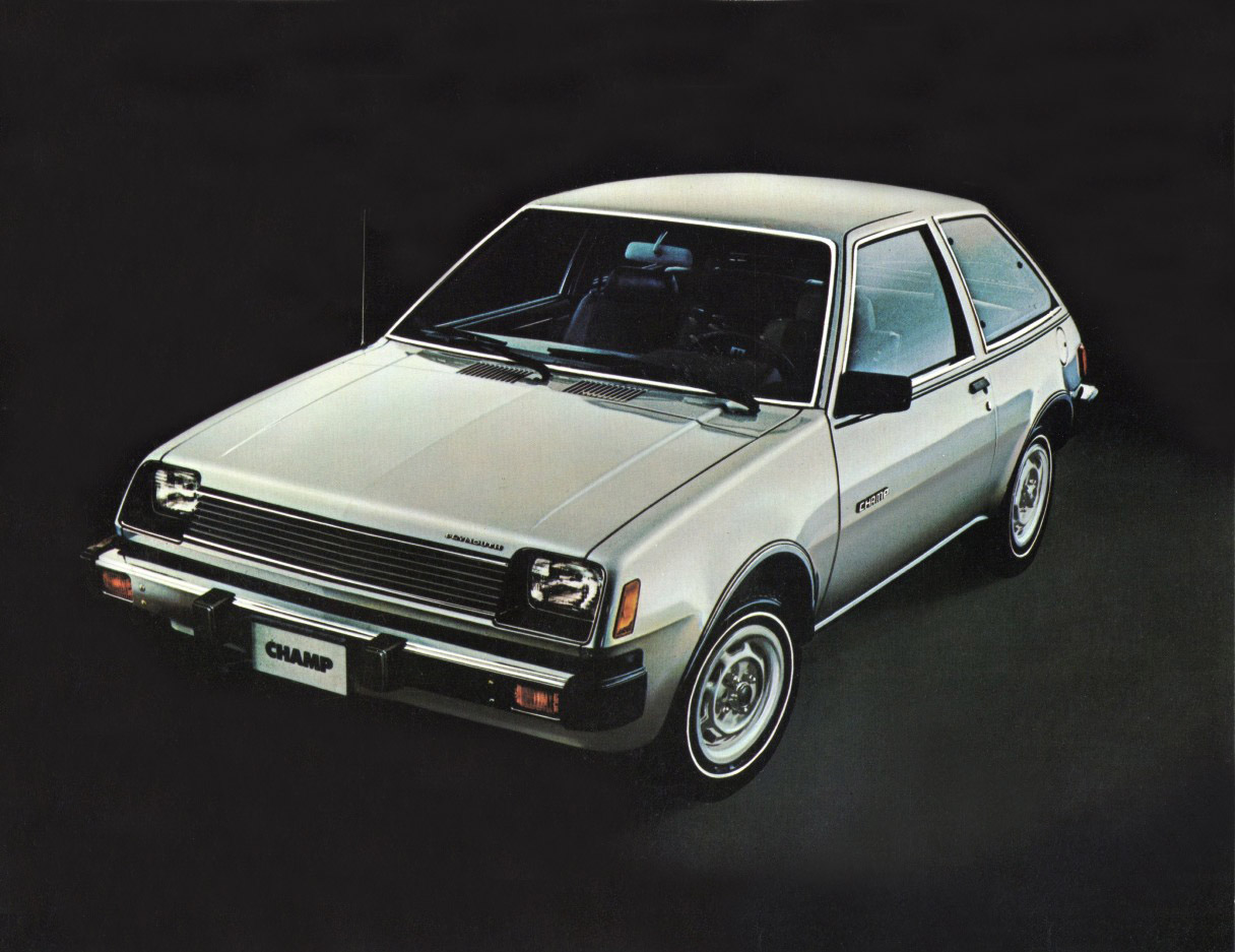 1980 Plymouth Champ - Information and photos - MOMENTcar