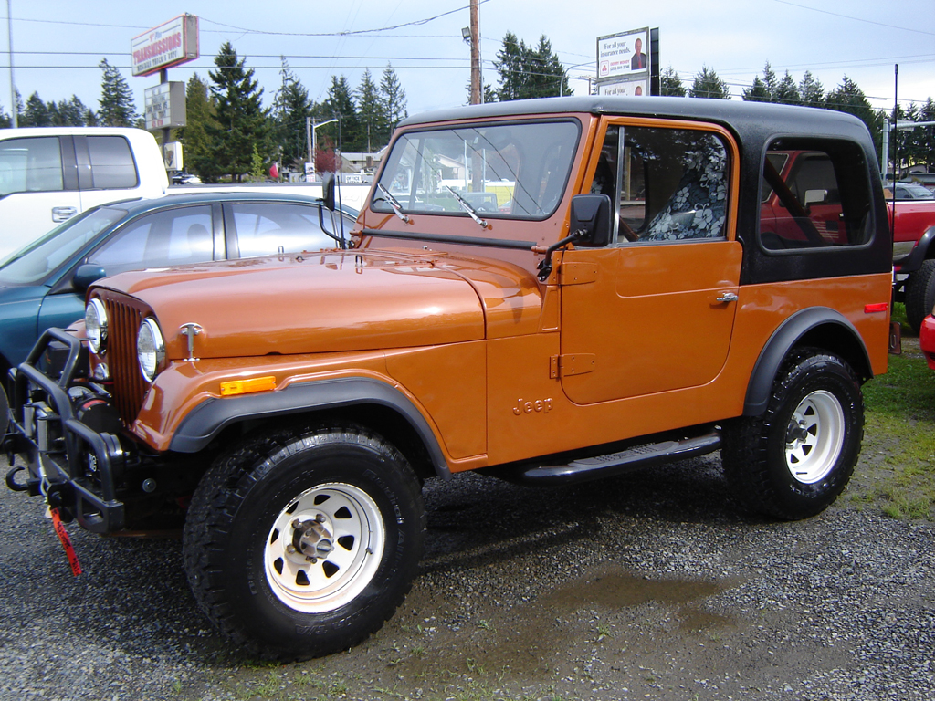 1980 Jeep Cj-7 - Information And Photos